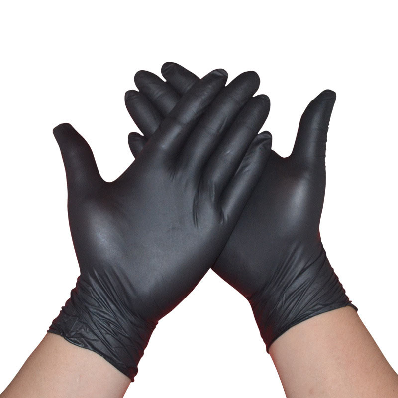 50PCS Disposable Latex Nitrile Gloves Anti-Static Work Gloves Household Cleaning Washing Mechanic Working Laboratory Nail Art
