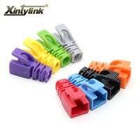 50pcs Lot Multicolour Network Connectors Sheath Protective Sleeve For Cat6 Ethernet Cable Rj45