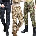 Calças calças dos homens calças de camuflagem militar homens do exército calças táticas pantalones hombre homme moda reta resistente a riscos