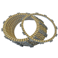 LOPOR 8 pcs Motorcycle Friction Clutch Plates For Honda ST1300P ST1300PA 2009 2014 ST1300 P PA 09 14 NEW
