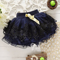 High Quality New Baby Girl Princess Floral Layer Mini Skirt Spring Autumn Summer Tutus Kids Short Skirt YY0617