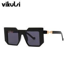 Unisex Fashion Oversize Square Sunglasses Men 2019 Luxury Brand Vintage Sun Glas