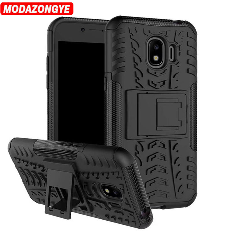 Galleria fotografica For Samsung Galaxy J2 2018 Case Samsung J2 2018 Case TPU + Hard Cover Phone Case For Samsung Galaxy J2 2018 J250F J250 SM-J250F