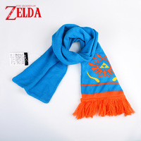 The Legend Of Zelda Hailar Warriors Game Blue Orange Scarf Women Men Unisex Xmas Gift For