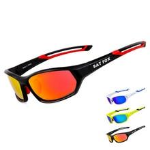 BATFOX Polarized Cycling Glasses Bike Sun Glasses Outdoor Sports Bicycle Bike Sunglasses TR90 Goggles Eyewear Cycling  Accessory