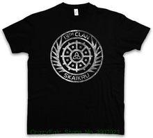 Skaikru Clan Logo T-shirt 100 13th Clan 13. The Insignia Sign Summer Short  Sleeves New Fashion T-shirt d7a889c7f8d8