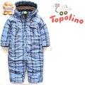 Topolino Baby & kids Inverno Quente terno de esqui snowsuit Romper espessamento de algodão-acolchoado casacos roupa do bebê frete grátis