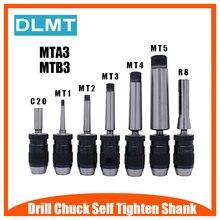 Automatische Vergrendeling Chuck 1 16mm B16 B18 en Taps Toelopende Staaf MTA3 MTB3 1 13 3 16 bewerkingscentrum Boren Machine