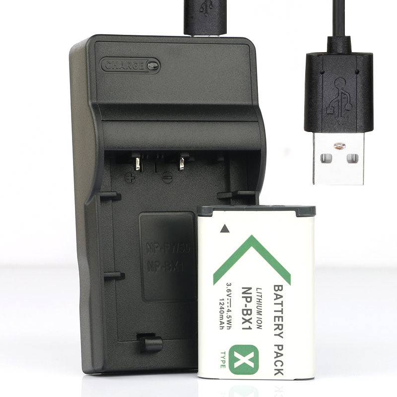 2x Batería 1200mAh Para Sony NP-FM500H