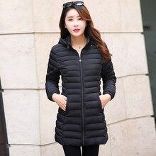 Winter Jacket Women 2017 Winter Autumn Coat Female Overcoat Windbreaker High Quality Parkas Ladies Hooded Long Coat Plus Size