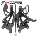Motorcycle Rear Set Rearset Foot Pegs Bracket For Yamaha YZF600 R6 2003-2005 03-04-05