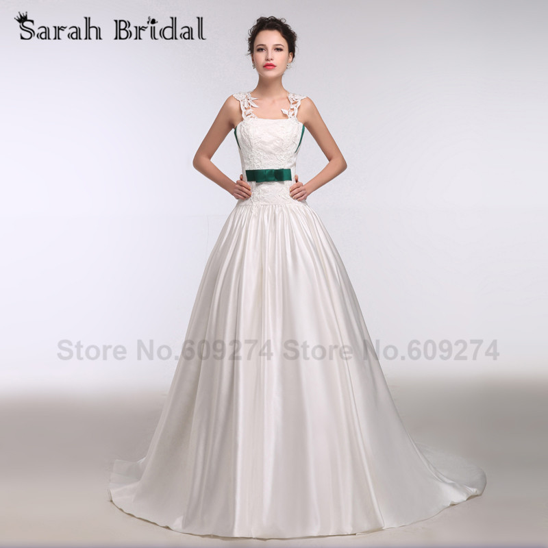 Online buy wholesale dark green wedding dress from china for Green beach wedding dresses