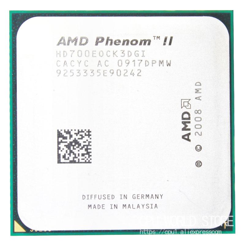AMD Phenom II X3 700e 2.4G 65W HD700EOCK3DGI Socket AM3 Used