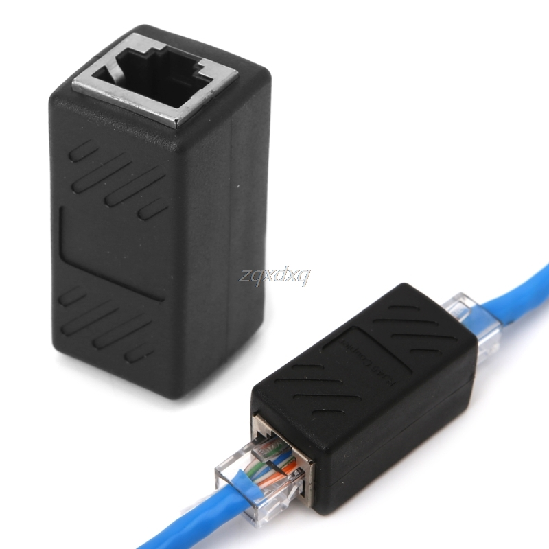RJ45 Female To Female Network Ethernet LAN Connector Coupler Converter Adapter Whosale&Dropship