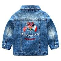 2018 Spring Children Jacket Cotton Cowboy Clothes Denim Jacket Kid S Clothing Child Coat Wholesale 2