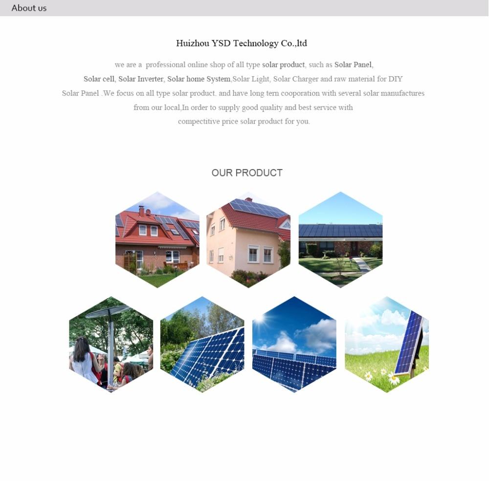 80 peças 4.5 w policristalino célula solar