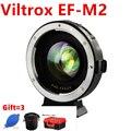 EF-M2 фокусное расстояние усилитель адаптер Автофокус 0.71x для Canon EF Крепление объектива для M43 камеры GH5 GH4 GF7GK GF9 GX7 E-M5 II M10III