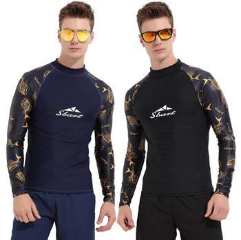 8defdc66e193 SBART mujeres de manga larga Rash guardia traje de baño camisetas de natación  para baño protección UV chica Rashguard traje de baño chaqueta surf Tops L