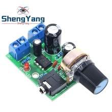 ShengYang-AMPLIFICADOR DE potencia de Audio LM386, placa de 3V ~ 12V, 5v, Mini módulo AMP, volumen ajustable, 1 unidad, novedad