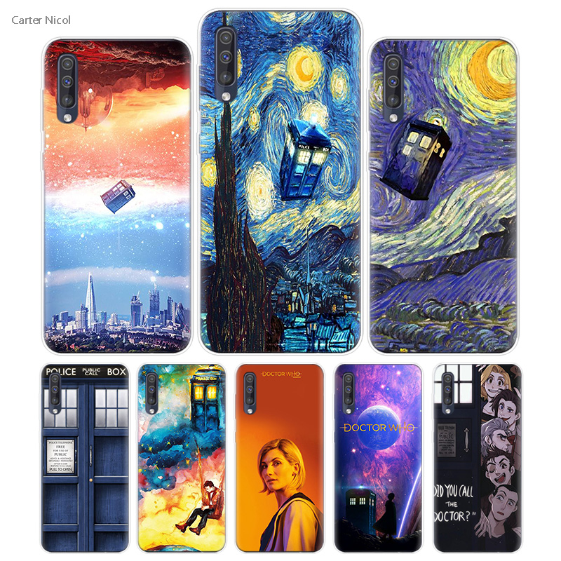 Phone Bags & Cases Transpatrent Silicone Case For Samsung Galaxy A50 A70 A30 M30 M20 A10 A20 A40 M20 Cover Phone Tardis Box Doctor Who Pleasant To The Palate