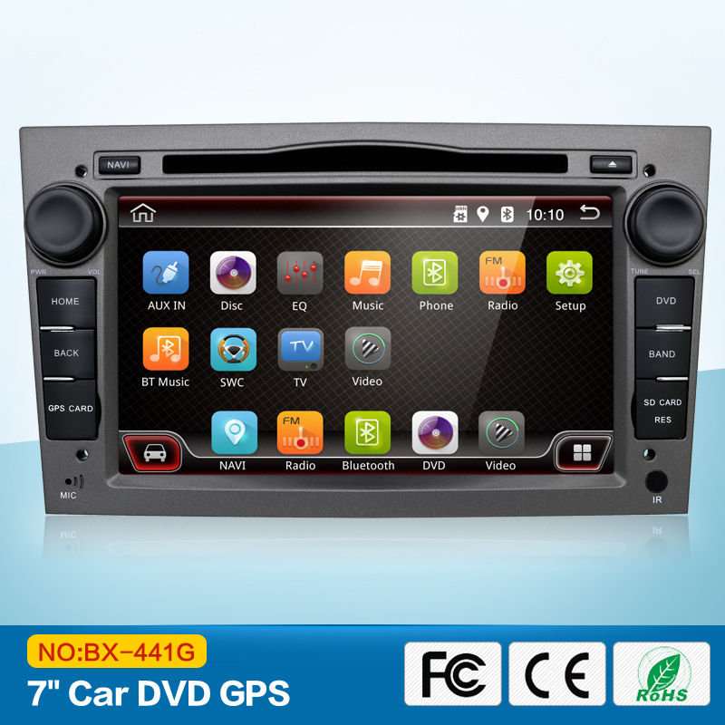 DVD GPS Navigation Autoradio WiFi för OPEL Astra Corsa Vectra VIVARO - Bilelektronik