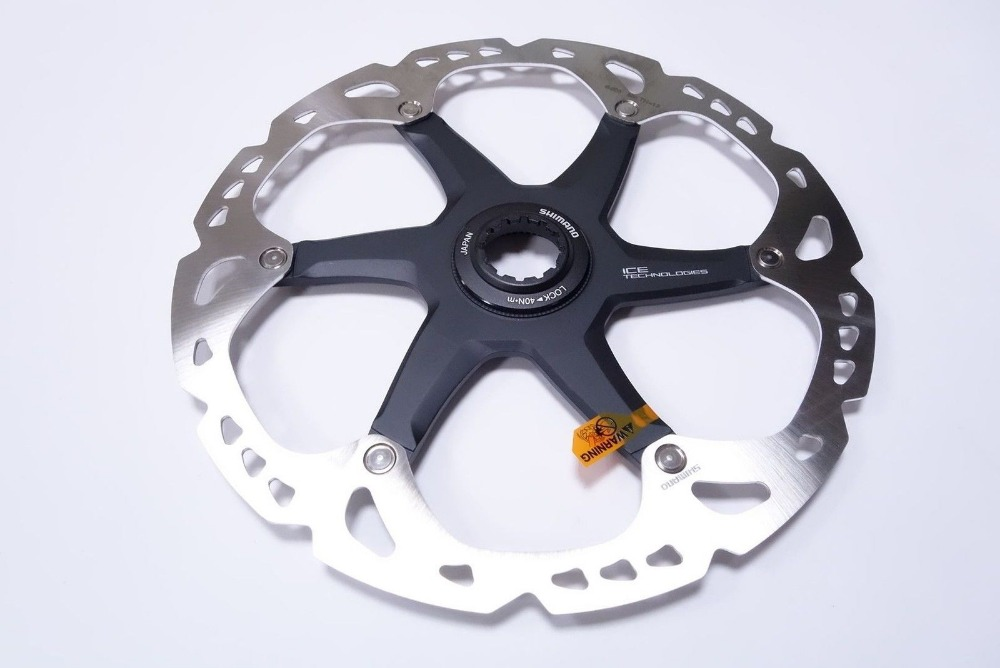 New Shimano Deore XT SM-RT81-S Ice-Tec Center Lock Disc Brake Rotor 160mm