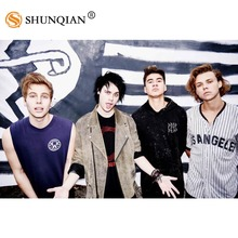 Custom 5 Seconds Of Summer Wall Poster 20x30 Inch Room Poster/Home  Decorative Poster Living
