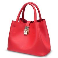 Beaocly Big Size Women Handbag Pu Leather Solid Tote Women Shoulder Bag Ladies Fashion Women Messenger
