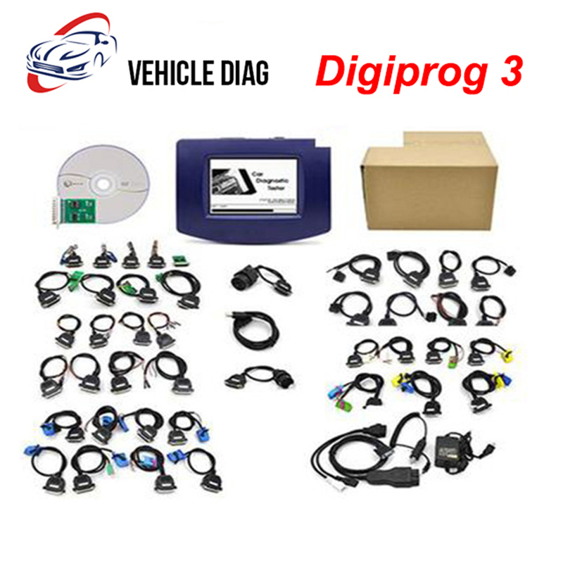 Digiprog3 odometer Adjustment v4 94 Fullset Digipro 3 Mileage Adjustment Programmer Digiprog III With Software Free