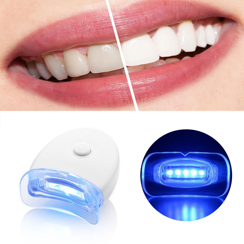 ᗑgenkent 1 Pcs Dentes Branqueamento Dental Embutido 5 Leds Luzes