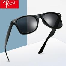 Psacss Classic Square Polarized Sunglasses Men Women Vintage High Quality Brand Designer Male Fashion Retro Sun Glasses UV400
