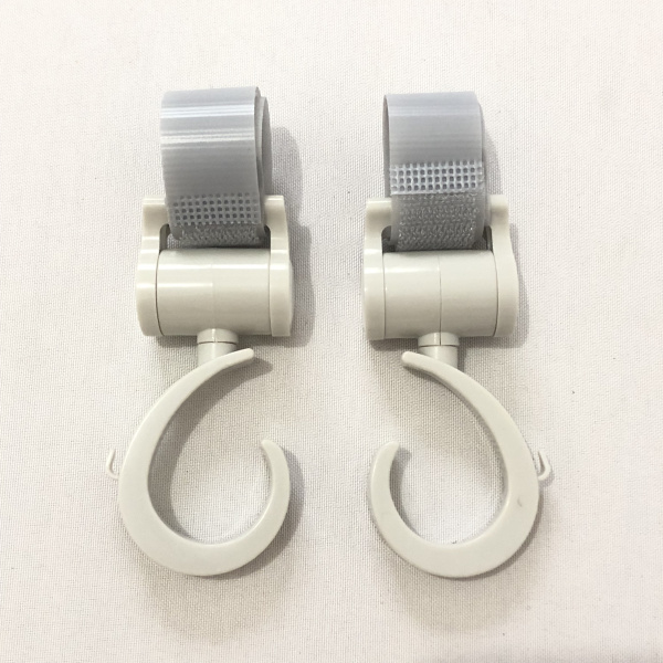 Коляска крючок-2 шт. многофункциональных крючков для угги или младенца перевозчика или велосипеда или подголовника автомобиля - Цвет: Grey 2 pieces