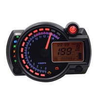 New Styling Adjustable MAX 199km/h 15000rpm KOSO RX2N with LCD Display Digital Motorcycle Odometer Speedometer Hot Drop Shipping
