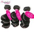 7A Unprocessed Virgin Hair 3 Bundle Brazilian Loose Wave Virgin Hair Wet And Wavy Virgin Brazilian Hair Weave Bundles Human Hair