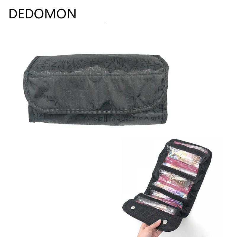 Hot Makeup Bag Professional Cosmetic Bag Waterproof Women Makeup Case Make Up Organizer Large Capacity Storage Travel Pouch Bags