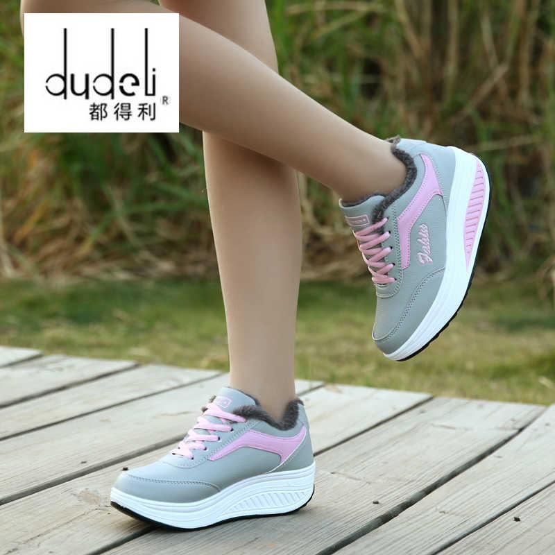 Dudeli Quần Áo Thun Giày Đi Bộ Giày Thoáng Khí Nữ Mocassin Femme Phong Cách Cổ Điển Sapatenis Zapatos Sperry