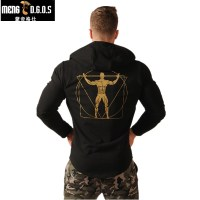 2017 Newest Fitness Men Gyms Hoodies Sweatshirt Bodybuilding Hoody Zipper Casual Sweatshirt Men S Slim Fit