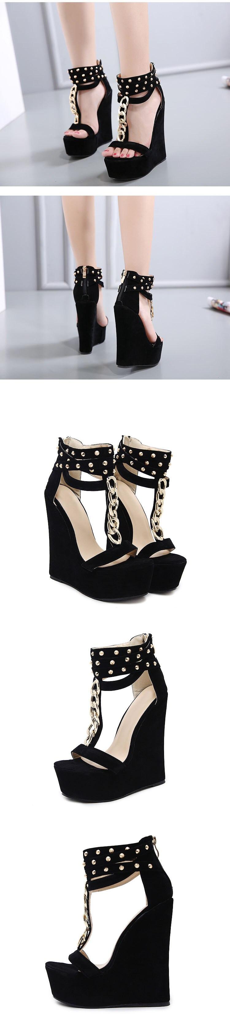 Gladiator Women Sandals High Heel Sandals