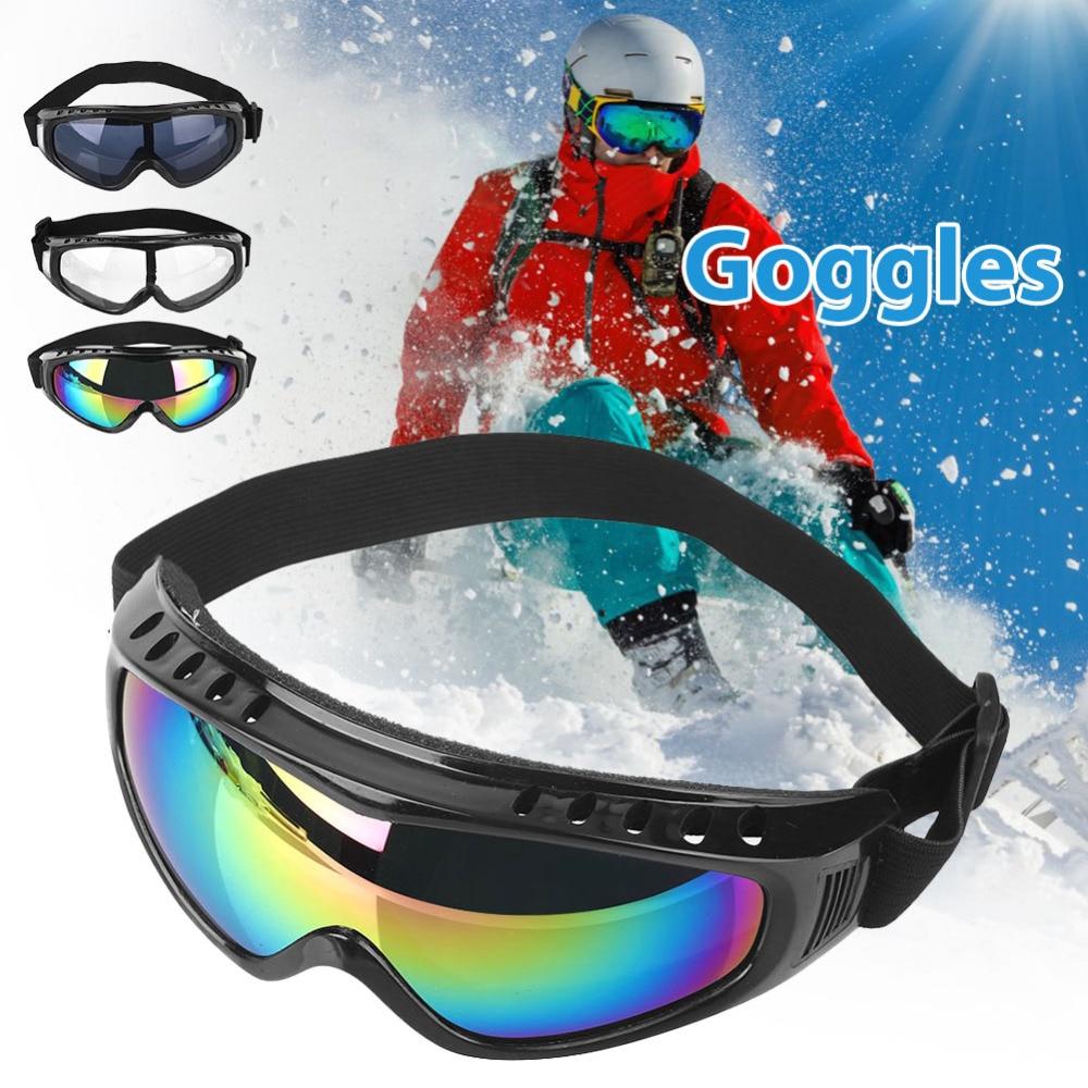 6b6af69e06f Eyewear Anti-UV Ski Windproof Goggles Ski Goggles Anti-fog Big Ski Mask  Glasses Skiing Men Women Snow Snowboard Goggles
