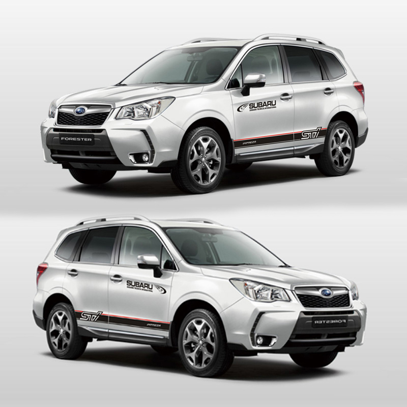 TAIYAO car styling sport car sticker For Subaru 2018 Forester Mark Levinson car accessories and decals