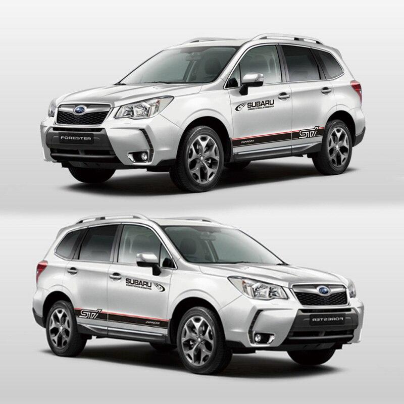 TAIYAO car styling sport autocollant de voiture Pour Subaru 2018 Forestier Mark Levinson voiture accessoires et stickers auto autocollant