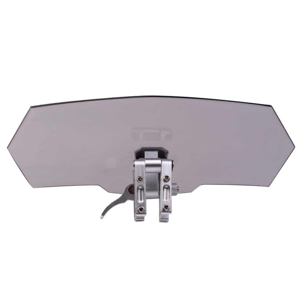 Adjustable Clip On Windshield Extension Spoiler Wind Deflector For Motorcycle