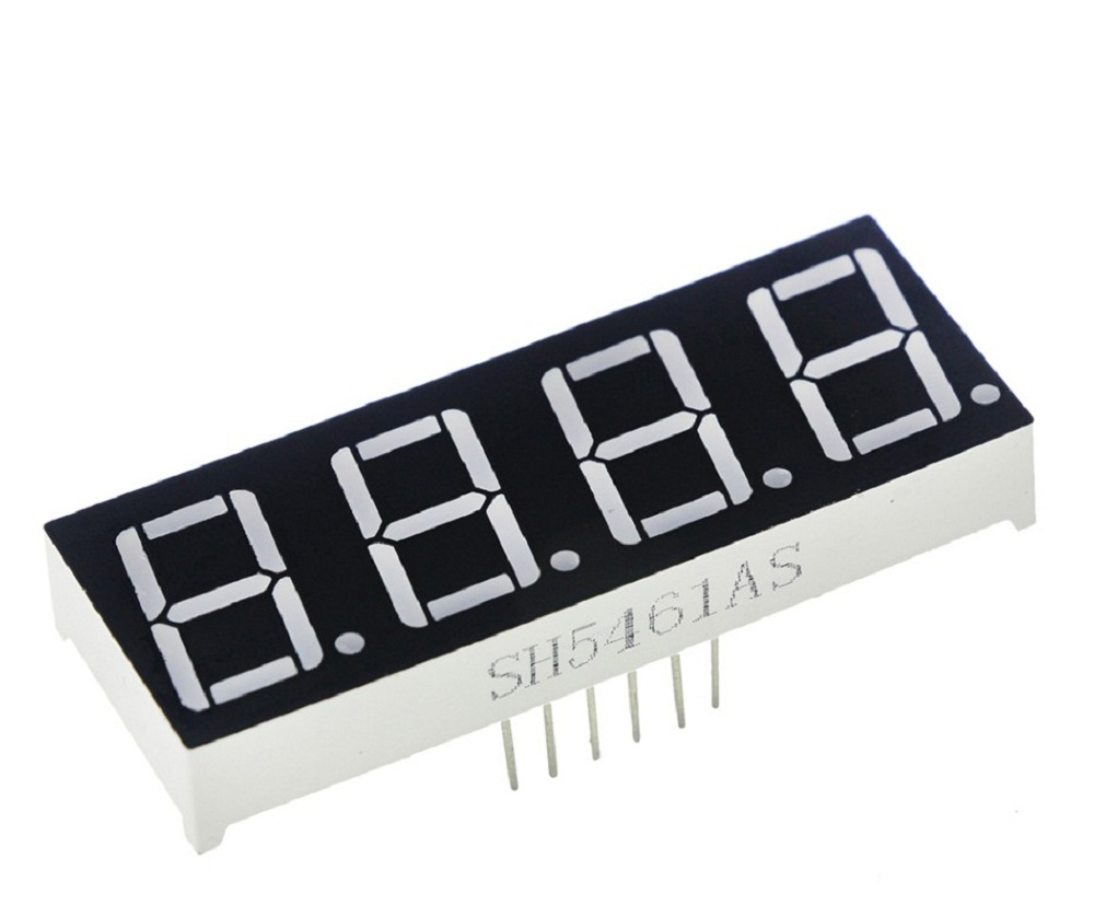 056 Inch 4 Bit Digital Tube Common Cathode Red Led Digit Display 7 For Beginners Clock With 7segments And Rtc Segment Four In Replacement Parts Accessories