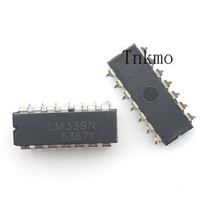 Image 2 - 100PCS LM339N DIP 14 LM339 DIP Quad Single Supply Comparators new and original IC