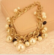 Pearl Choker Necklace New 2014 Designer Brands Luxury Fashion Jewelry For Women Wholesale Maxi Colar Collier