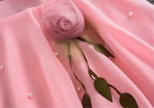 Baby Girl Rosebud Solid Tulle Princess Dress