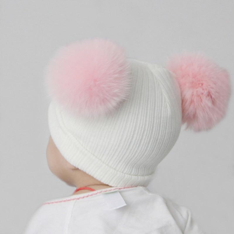2016 Baru Lucu Bayi Perempuan Laki-laki Beanie Cotton Musim Dingin - Aksesori pakaian - Foto 5