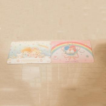 1 шт.. Новая My Melody Little Twin Stars hello kitty childreoroll Pudding Dog плюшевый ковер мультфильм коврик для ног коврик для двери коврик плюшевая игрушка