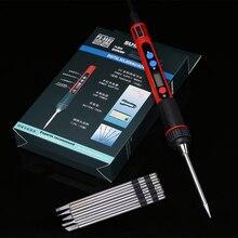 أداة لحام LCD USB رقمية 5 فولت 10 وات قابلة للتعديل للحرارة حديد لحام soldearnout Ferro Solda BGA أدوات لحام