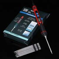 Portable 5 V 10 W numérique LCD USB fer à souder température réglable fer à souder Soldeerbout Ferro Solda BGA outils de soudage